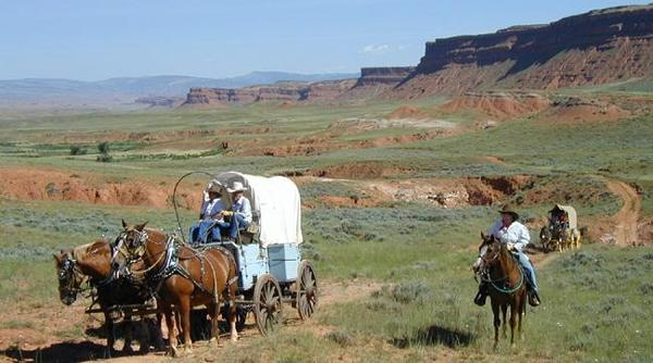 Spiritrider Wagon Train Adventure Trip at Hole-in-the-Wall